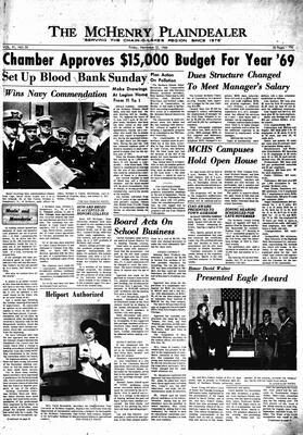 McHenry Plaindealer (McHenry, IL), 22 Nov 1968