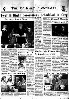 McHenry Plaindealer (McHenry, IL), 27 Dec 1968