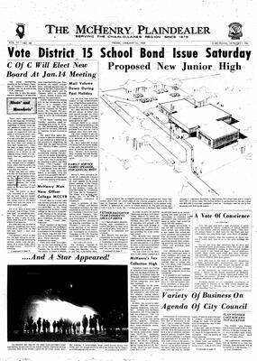 McHenry Plaindealer (McHenry, IL), 10 Jan 1969