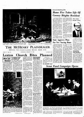 McHenry Plaindealer (McHenry, IL), 19 Feb 1969