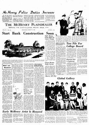 McHenry Plaindealer (McHenry, IL), 19 Mar 1969