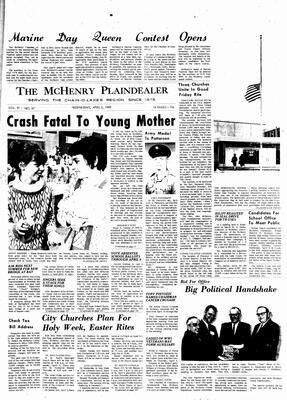 McHenry Plaindealer (McHenry, IL), 2 Apr 1969