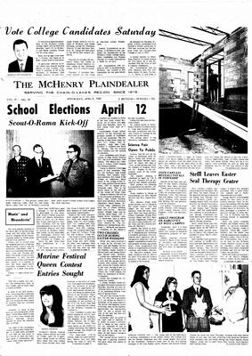 McHenry Plaindealer (McHenry, IL), 9 Apr 1969