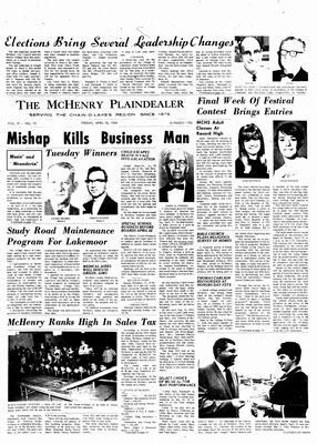 McHenry Plaindealer (McHenry, IL), 18 Apr 1969