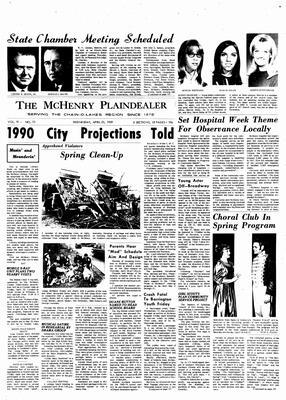 McHenry Plaindealer (McHenry, IL), 23 Apr 1969