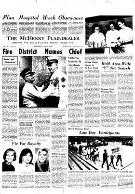 McHenry Plaindealer (McHenry, IL), 7 May 1969