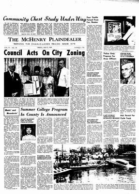 McHenry Plaindealer (McHenry, IL), 9 May 1969