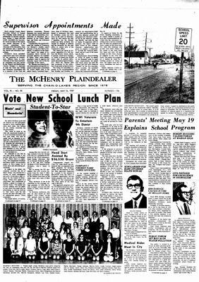 McHenry Plaindealer (McHenry, IL), 16 May 1969