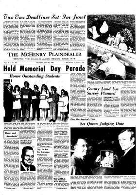 McHenry Plaindealer (McHenry, IL), 29 May 1969