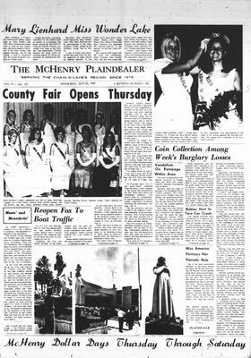 McHenry Plaindealer (McHenry, IL), 30 Jul 1969