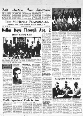 McHenry Plaindealer (McHenry, IL), 1 Aug 1969