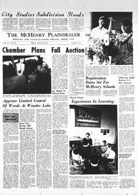 McHenry Plaindealer (McHenry, IL), 8 Aug 1969