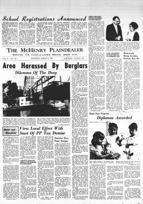 McHenry Plaindealer (McHenry, IL), 13 Aug 1969