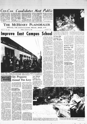 McHenry Plaindealer (McHenry, IL), 22 Aug 1969