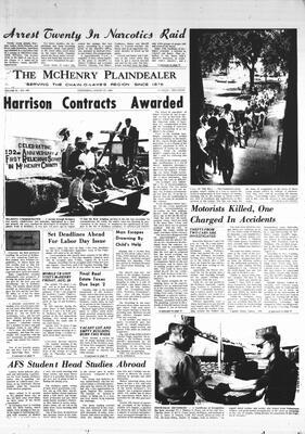 McHenry Plaindealer (McHenry, IL), 27 Aug 1969