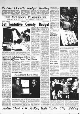 McHenry Plaindealer (McHenry, IL), 29 Aug 1969