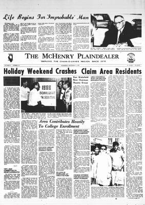 McHenry Plaindealer (McHenry, IL), 3 Sep 1969