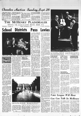 McHenry Plaindealer (McHenry, IL), 26 Sep 1969