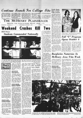 McHenry Plaindealer (McHenry, IL), 1 Oct 1969