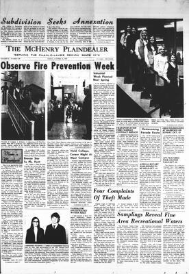 McHenry Plaindealer (McHenry, IL), 10 Oct 1969