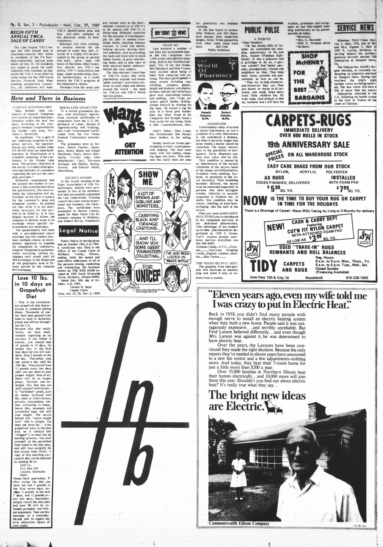 McHenry Plaindealer (McHenry, IL), 29 Oct 1969