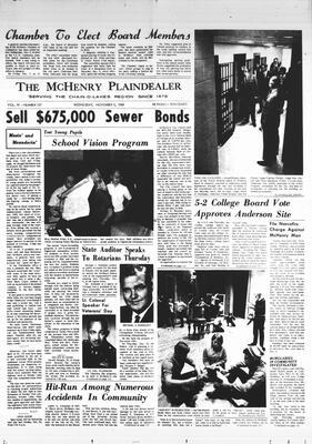 McHenry Plaindealer (McHenry, IL), 5 Nov 1969