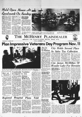 McHenry Plaindealer (McHenry, IL), 7 Nov 1969