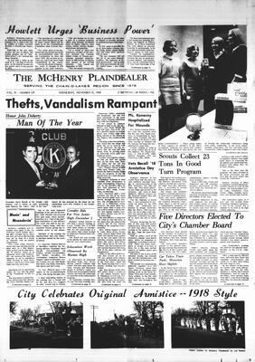 McHenry Plaindealer (McHenry, IL), 12 Nov 1969