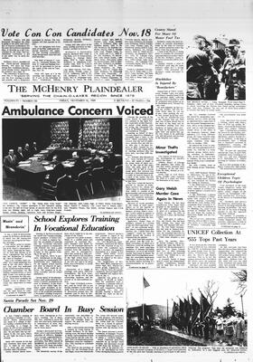 McHenry Plaindealer (McHenry, IL), 14 Nov 1969