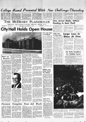 McHenry Plaindealer (McHenry, IL), 19 Nov 1969