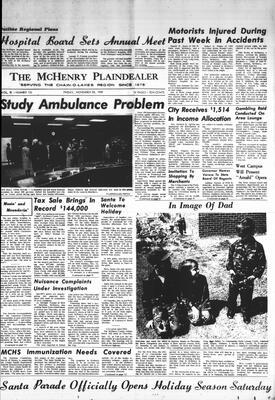 McHenry Plaindealer (McHenry, IL), 28 Nov 1969