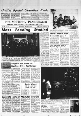 McHenry Plaindealer (McHenry, IL), 3 Dec 1969
