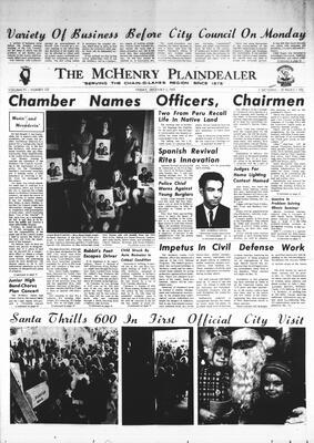 McHenry Plaindealer (McHenry, IL), 5 Dec 1969