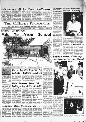 McHenry Plaindealer (McHenry, IL), 10 Dec 1969
