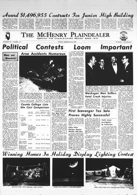 McHenry Plaindealer (McHenry, IL), 26 Dec 1969