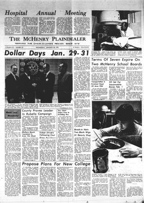 McHenry Plaindealer (McHenry, IL), 28 Jan 1970