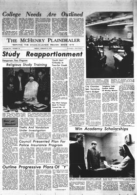 McHenry Plaindealer (McHenry, IL), 6 Feb 1970