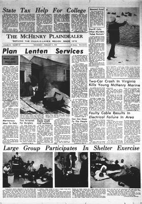 McHenry Plaindealer (McHenry, IL), 11 Feb 1970