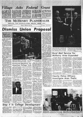 McHenry Plaindealer (McHenry, IL), 20 Feb 1970