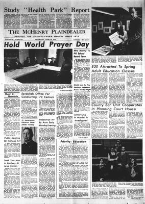 McHenry Plaindealer (McHenry, IL), 4 Mar 1970