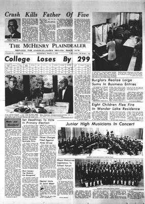 McHenry Plaindealer (McHenry, IL), 11 Mar 1970
