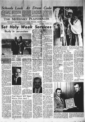 McHenry Plaindealer (McHenry, IL), 25 Mar 1970
