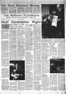 McHenry Plaindealer (McHenry, IL), 3 Apr 1970