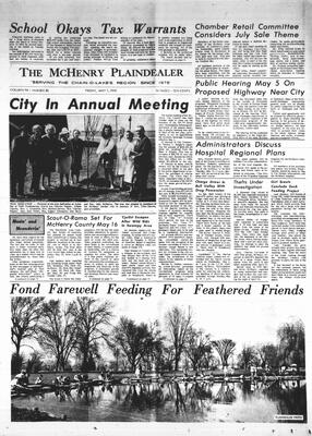 McHenry Plaindealer (McHenry, IL), 1 May 1970