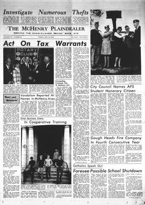 McHenry Plaindealer (McHenry, IL), 22 May 1970