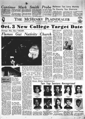 McHenry Plaindealer (McHenry, IL), 10 Jun 1970