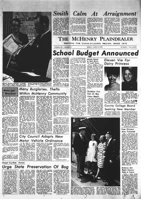 McHenry Plaindealer (McHenry, IL), 19 Jun 1970