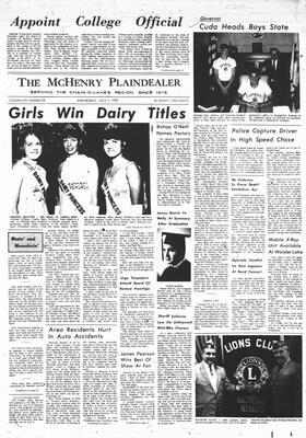 McHenry Plaindealer (McHenry, IL), 1 Jul 1970