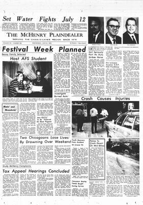 McHenry Plaindealer (McHenry, IL), 8 Jul 1970