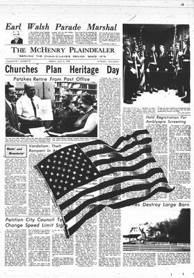 McHenry Plaindealer (McHenry, IL), 3 Jul 1970